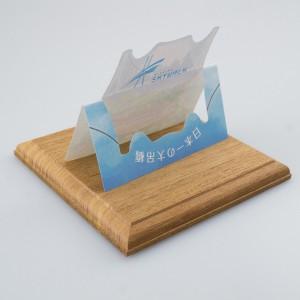 プリエ メッセージカード 使用例(後ろから)