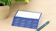 株式会社メガ様 《カットメモカレンダー》