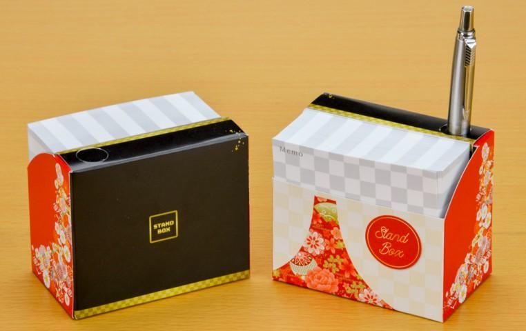 スタンドBOXメモ 和風富士