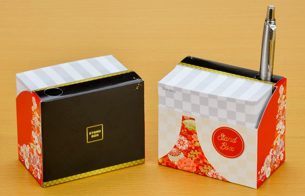 スタンドBOXメモ 和風富士1