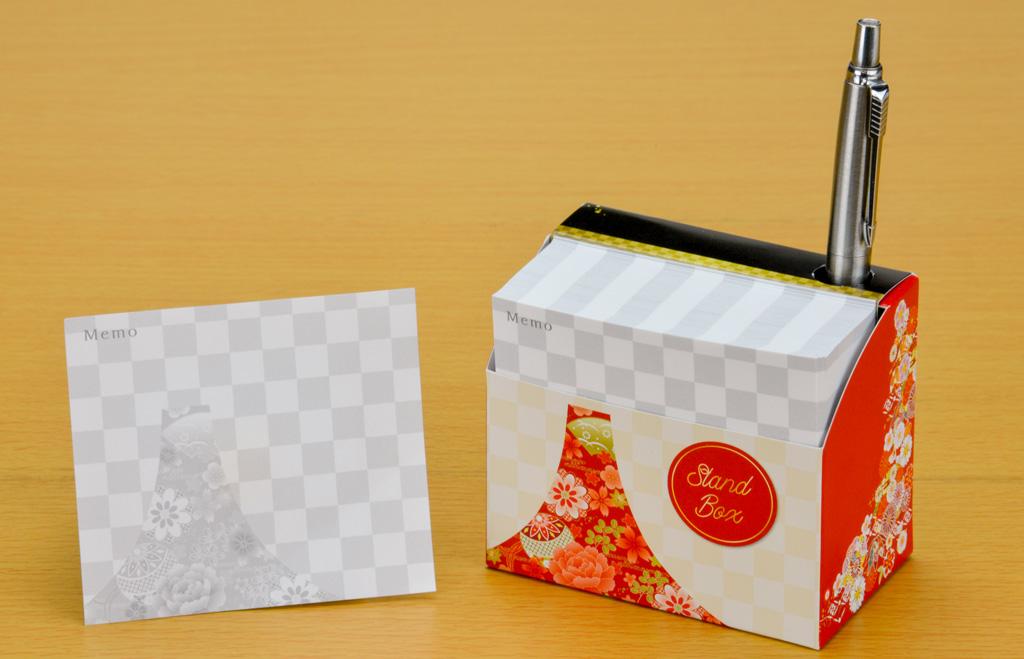 スタンドBOXメモ 和風富士3