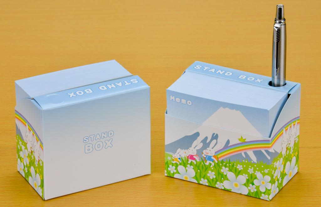 スタンドBOXメモ ポップ富士1