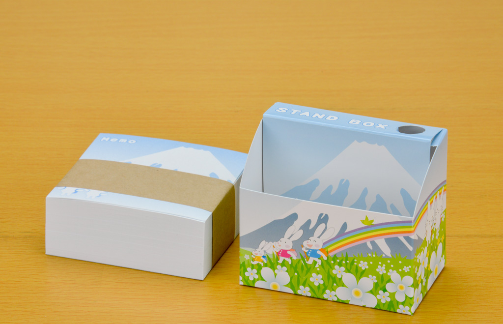 スタンドBOXメモ ポップ富士2