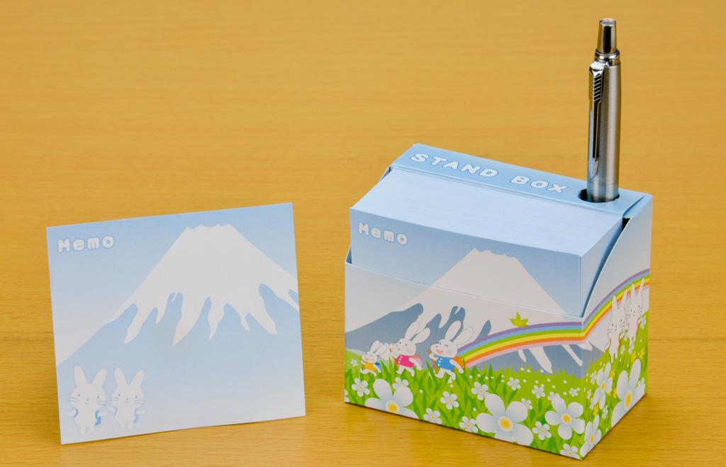 スタンドBOXメモ ポップ富士3
