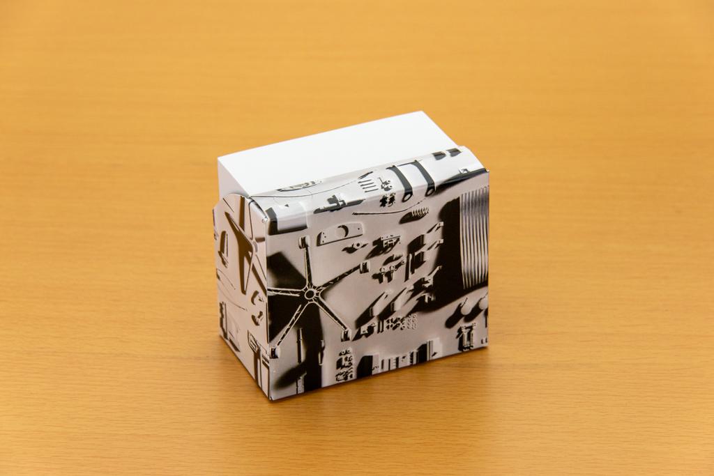 株式会社イトーキ様スタンドBOXメモ背面
