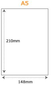 PPダブルリングノートサイズ(A5)