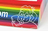 リコージャパン株式会社様のNetRICOH(ネットリコー)【ステーショナリー3点セット】カットメモ:ワイド